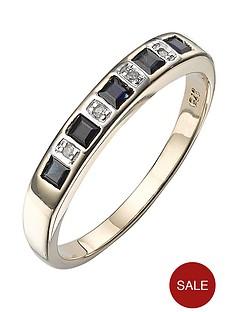 love-gem-9-carat-gold-diamond-set-princess-cut-sapphire-eternity-ring