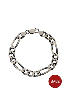 love-silver-sterling-silver-gunmetal-finish-solid-figaro-mens-bracelet