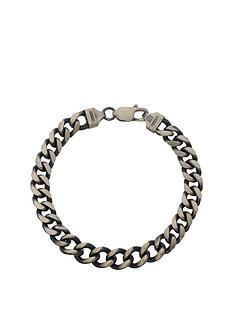 the-love-silver-collection-sterling-silver-gunmetal-finish-solid-curb-mens-bracelet
