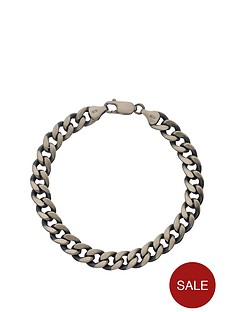 love-silver-sterling-silver-gunmetal-finish-hollow-curb-mens-bracelet