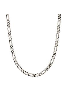 love-silver-sterling-silver-gunmetal-finish-solid-figaro-mens-chain