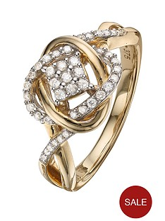 love-diamond-9-carat-yellow-gold-25-point-diamond-infinity-crossover-ring