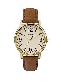 timex-original-indiglo-night-light-round-brown-leather-strap-unisex-watch