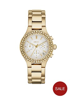 dkny-chambers-gold-tone-stainless-steel-ladies-watch-38-mm