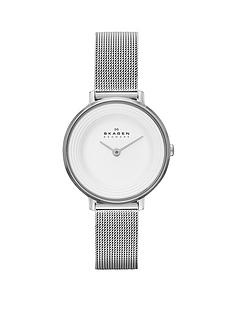skagen-ditte-refined-stainless-steel-ladies-watch