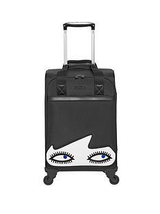 lulu-guinness-doll-face-4-wheel-cabin-case