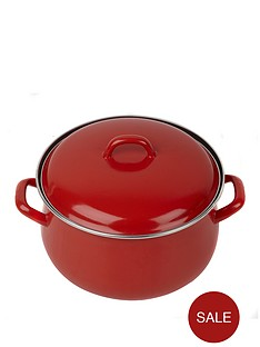 swan-16-cm-casserole-pot-red