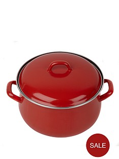 swan-24-cm-casserole-pot-red