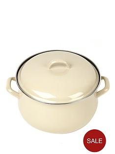 swan-24-cm-casserole-pot-cream
