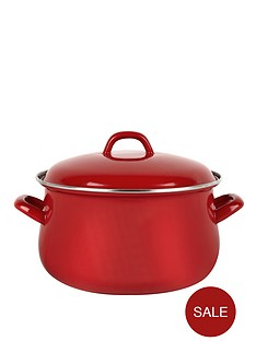 swan-14-cm-casserole-pot-red