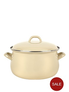 swan-18-cm-bellied-casserole-pot-cream