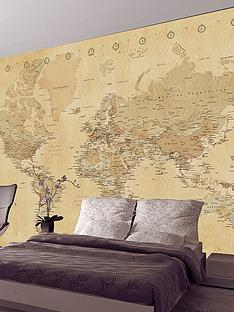 1wall-old-map-wall-mural