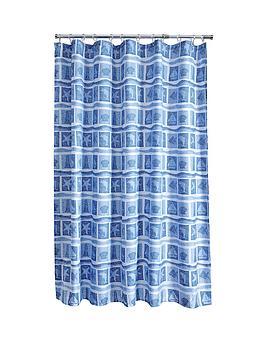aqualona-seascape-shower-curtain-bluewhite