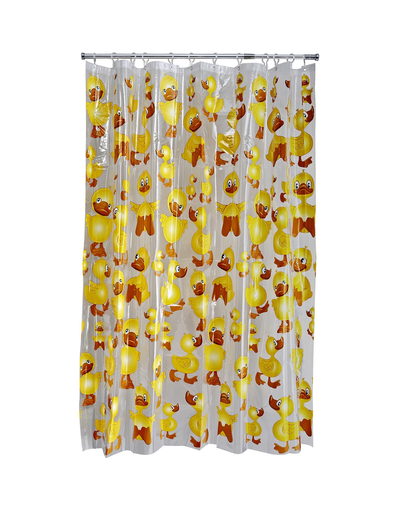 Cheeky Duck Shower Curtain - Multi at Littlewoods