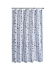 aqualona-vine-leaf-shower-curtain-whitemulti