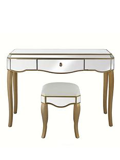 new-vintage-ready-assembled-mirrored-dressing-table-and-stool-set