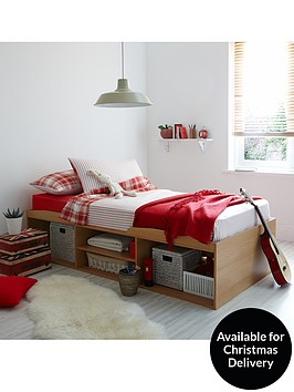 kidspace-texas-kids-single-cabin-bed-with-free-mattress-offer