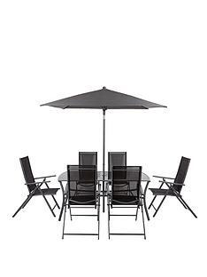 roma-8-piece-recliner-dining-set