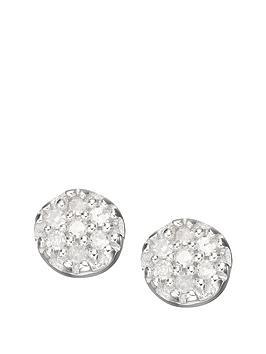 love-diamond-9-carat-white-gold-diamond-set-cluster-earrings