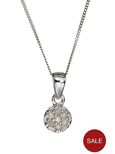 love-diamond-9-carat-white-gold-diamond-set-cluster-pendant