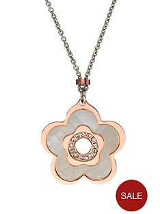 love-silver-silver-rhodium-plated-rose-gold-and-mother-of-pearl-pendant-necklace