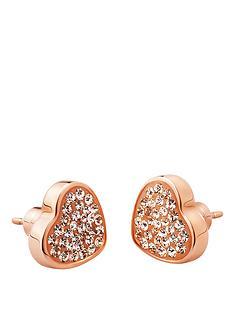folli-follie-bling-chic-rose-gold-heart-stud-earrings