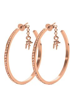 folli-follie-match-and-dazzle-rose-gold-earrings-with-champagne-stone