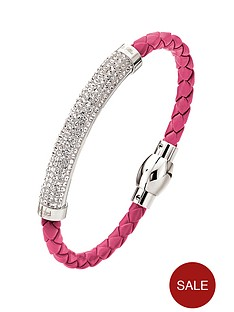 folli-follie-dazzling-pinksilver-bracelet-with-clear-stones