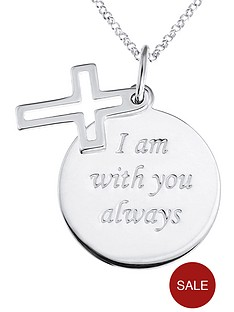 love-silver-sterling-silver-faith-message-disc-pendant-with-open-cross-charm