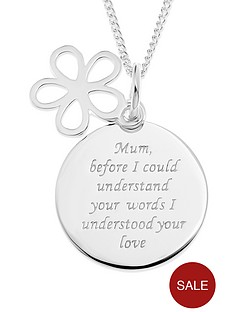 love-silver-sterling-silver-mum-message-disc-pendant-with-open-flower-charm