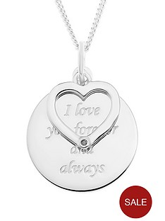 love-silver-sterling-silver-message-disc-pendant-with-diamond-set-open-heart-charm