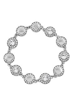 lola-and-grace-rhodium-plated-solitaire-pave-bracelet-made-with-swarovski-elements