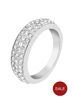 lola-and-grace-rhodium-plated-sparkly-ring-made-with-swarovski-elements