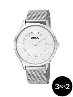 lorus-silver-tone-unisex-watch