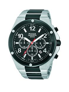 pulsar-sports-two-tone-chronograph-mens-watch