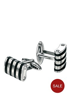stainless-steel-cufflinks-with-black-rubber-lines