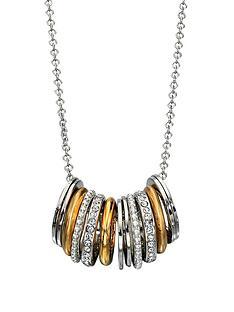 fiorelli-metallic-and-diamond-rings-necklace