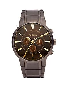 fossil-townsman-multi-function-brown-strap-mens-watch
