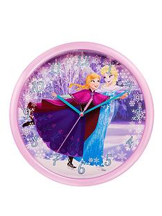 disney-frozen-wall-clock