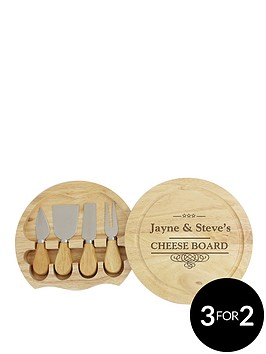 personalised-cheeseboard-with-knives