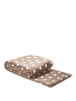 spot-printed-fleece-blanket-coffee