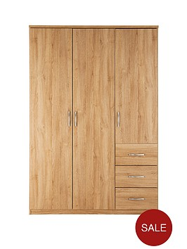 peru-3-door-3-drawer-wardrobe