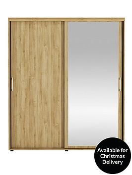 manhattan-sliding-2-door-mirrored-wardrobe