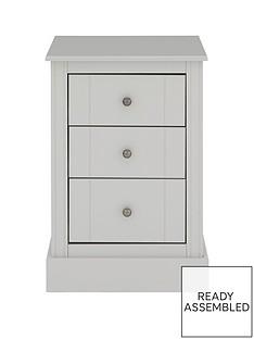 consort-dover-ready-assembled-3-drawer-bedside-cabinet