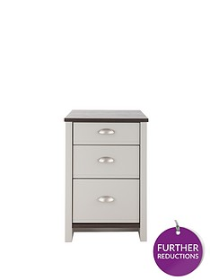 consort-tivoli-ready-assembled-3-drawer-graduated-bedside-chest