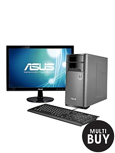 asus-m32bf-amd-a6-processor-6gb-ram-1tb-hard-drive-185-inch-monitor-desktop-bundle-with-1gb-dedicated-graphics-and-optional-microsoft-office-365-personal