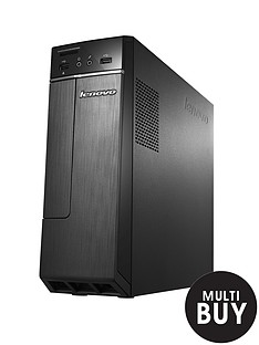lenovo-h30-intelreg-pentiumtrade-processor-4gb-ram-1tb-hard-drive-wi-fi-desktop-base-unit-with-optional-microsoft-office-365-personal-black