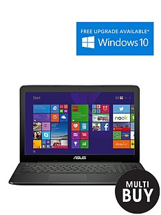 asus-x555la-intelreg-coretrade-i3-processor-4gb-ram-1tb-hard-drive-wi-fi-156-inch-laptop-with-optional-microsoft-office-365-personal-black