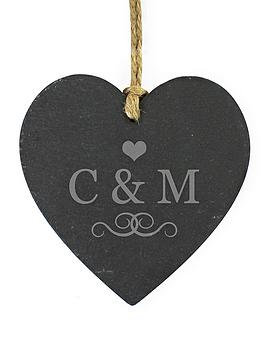 personalised-love-initials-slate-heart