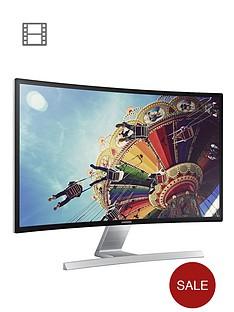 samsung-ls27d590cs-27-inch-curved-led-1920-x-1080-dsub-dvi-and-hdmi-visa-mountable-monitor